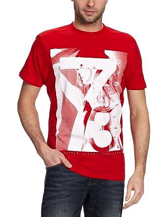 4456af53 Billabong Men's T-Shirt dark room, Men, H1SS05, Red Fire, XXL: Amazon.co.uk:  Sports & Outdoors
