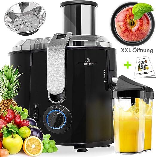 KESSER - Licuadora para Frutas y Verduras, Exprimidor Extactor de ...