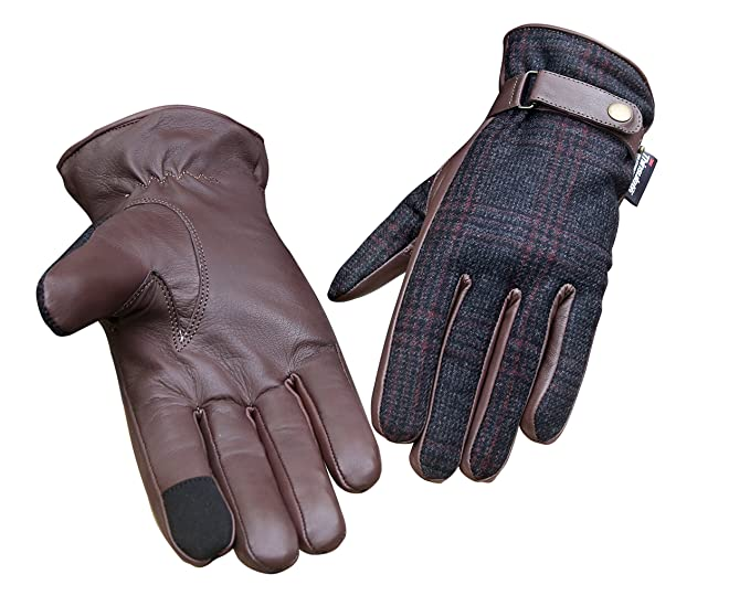 7787277bd Soft Sheep Leather Outdoor Driving Cycling Fashion Winter Touch screen Women  Gloves (Small)