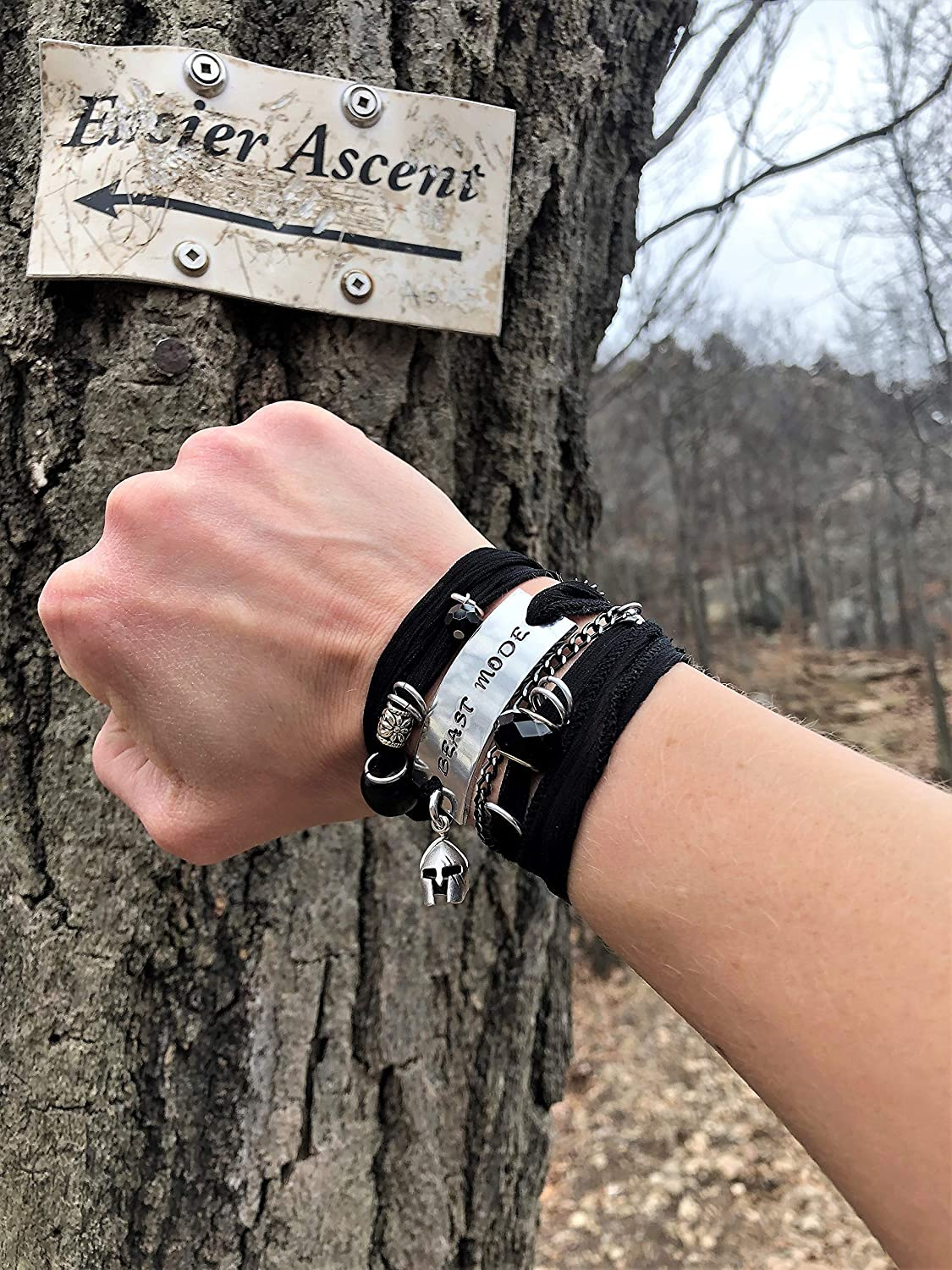 Spartan Bracelet for Women Spartan Woman BEAST MODE