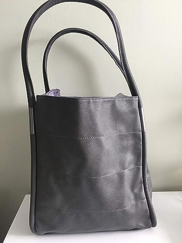 b41dfc23c Neiman Marcus Tote Bag, Grey: Handbags: Amazon.com