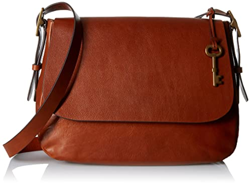 dffbe84a6c46 Fossil Women's Messenger Bag (Brown) (ZB6760200): Amazon.in: Shoes ...
