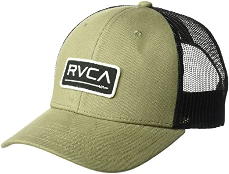 baf82b69a729f Amazon.com  RVCA Men s Ticket Trucker Hat  Clothing