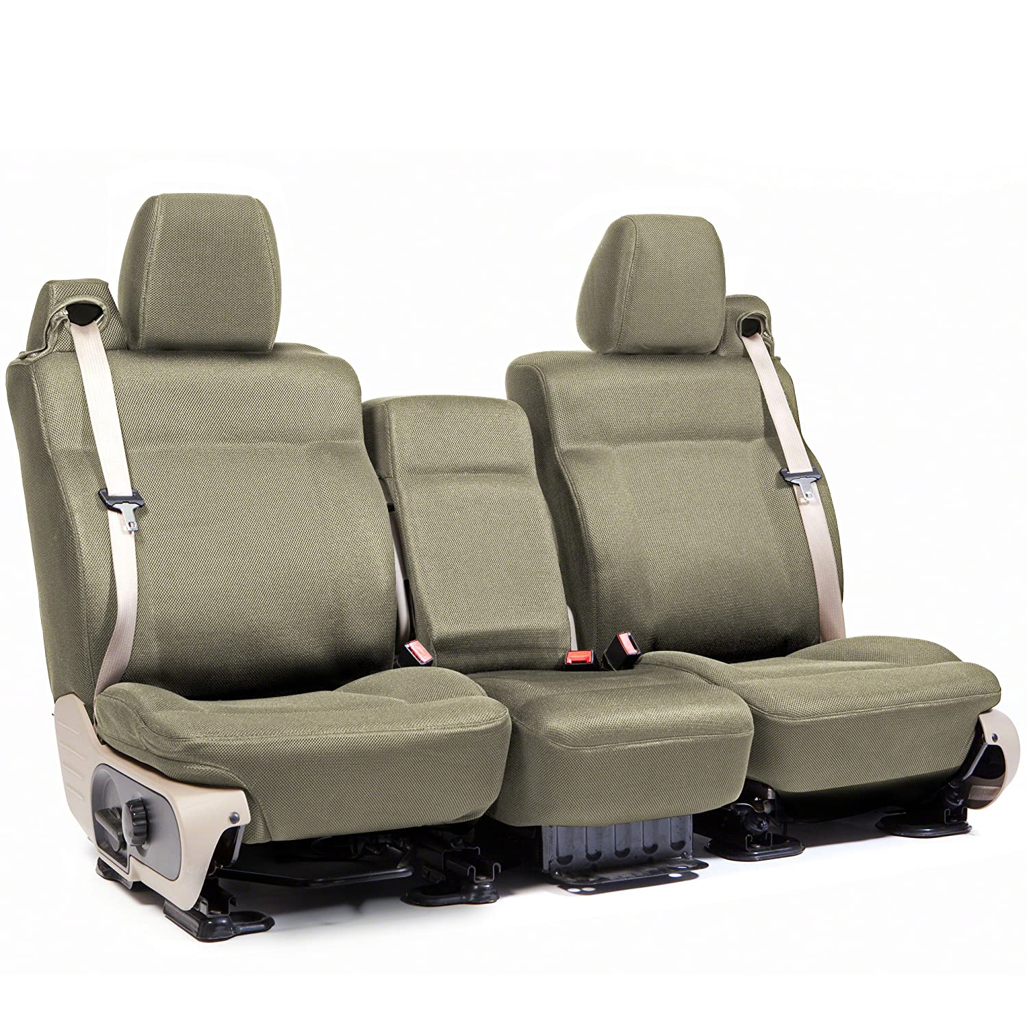 Taupe Mesh Solid MSCSMM06DG7785M 1 Row Coverking Custom Fit Molded Seat Cover for Select Dodge Models