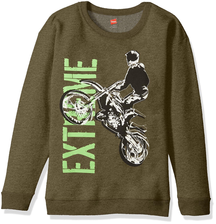 Hanes boys Big Boys Graphic Sweatshirt Hanes - Boys 8-20 OD108