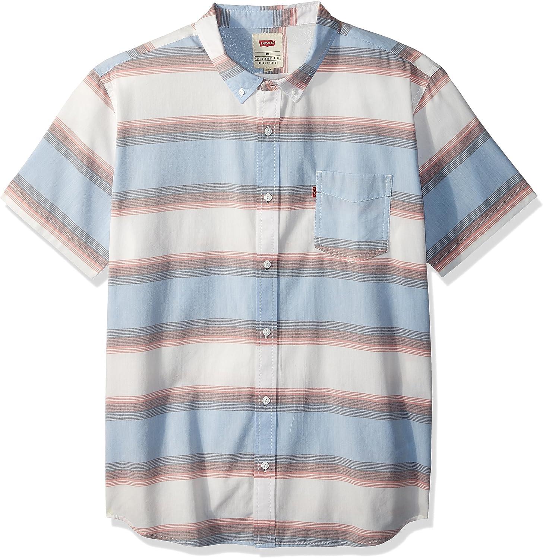 Levis Hombre 3LYSW11572 Manga Corta Camisa de Botones - Blanco ...