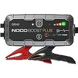 NOCO Boost Plus GB40 arrancador de Litio ultraseguro y portátil de 1000 amperios y 12 voltios para baterías de…