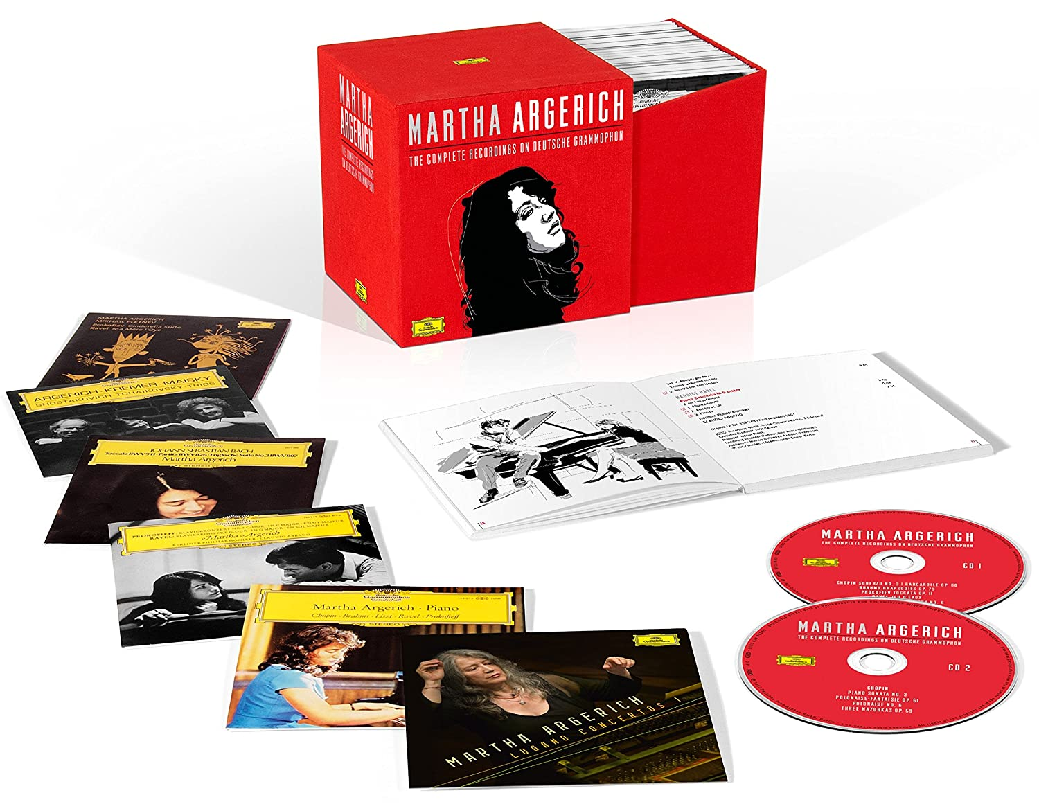 Martha Argerich: Complete Recordings On Deutsche Gramophon                                                                                                                                                                                                                                                                                                                                                                                                <span class=