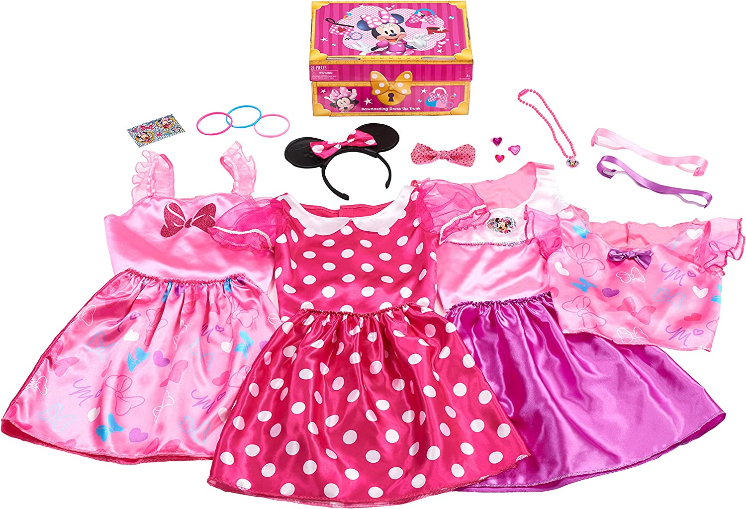 Toddler Girls pink Minnie Mouse Disney shorts new size 4