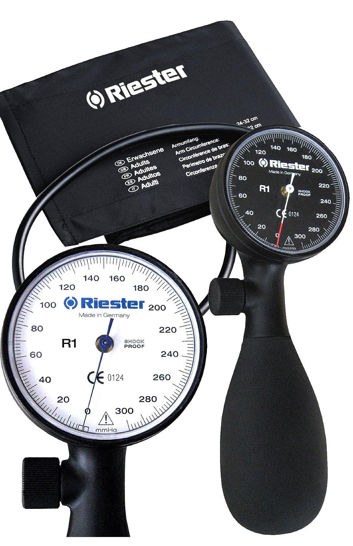 Riester R1 Shock-proof - Tensiómetro aneroide con manguito ...