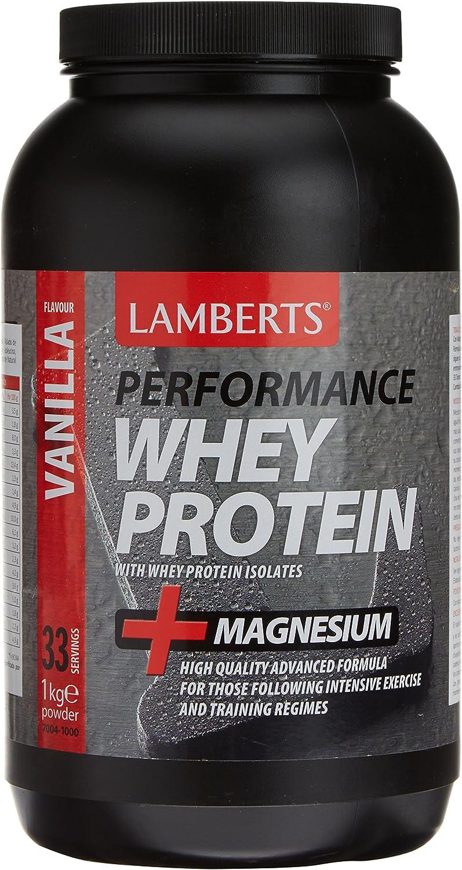 Lamberts Whey Protein Suplemento para Deportistas, Sabor a ...