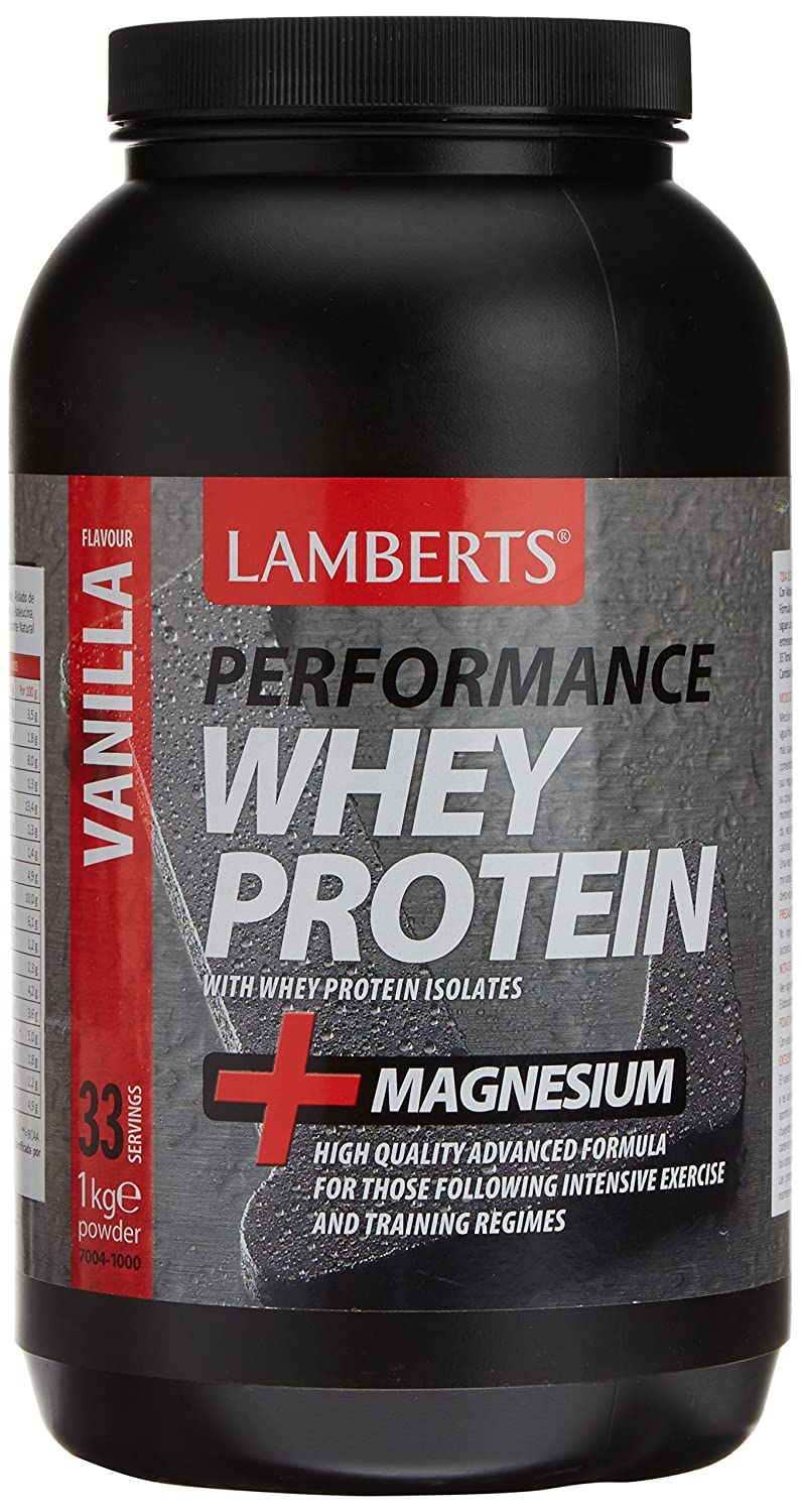 Amazon.com: Lamberts Whey Protein Vanilla & Magnesium 1000g Powder: Health & Personal Care