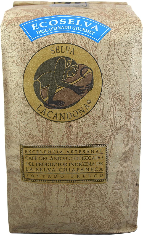 Amazon.com : Café La Selva Mexican Chiapas Organic Premium Gourmet Coffee, 18 oz. (Decaffeinated/Whole Bean, 18 oz) : Grocery & Gourmet Food