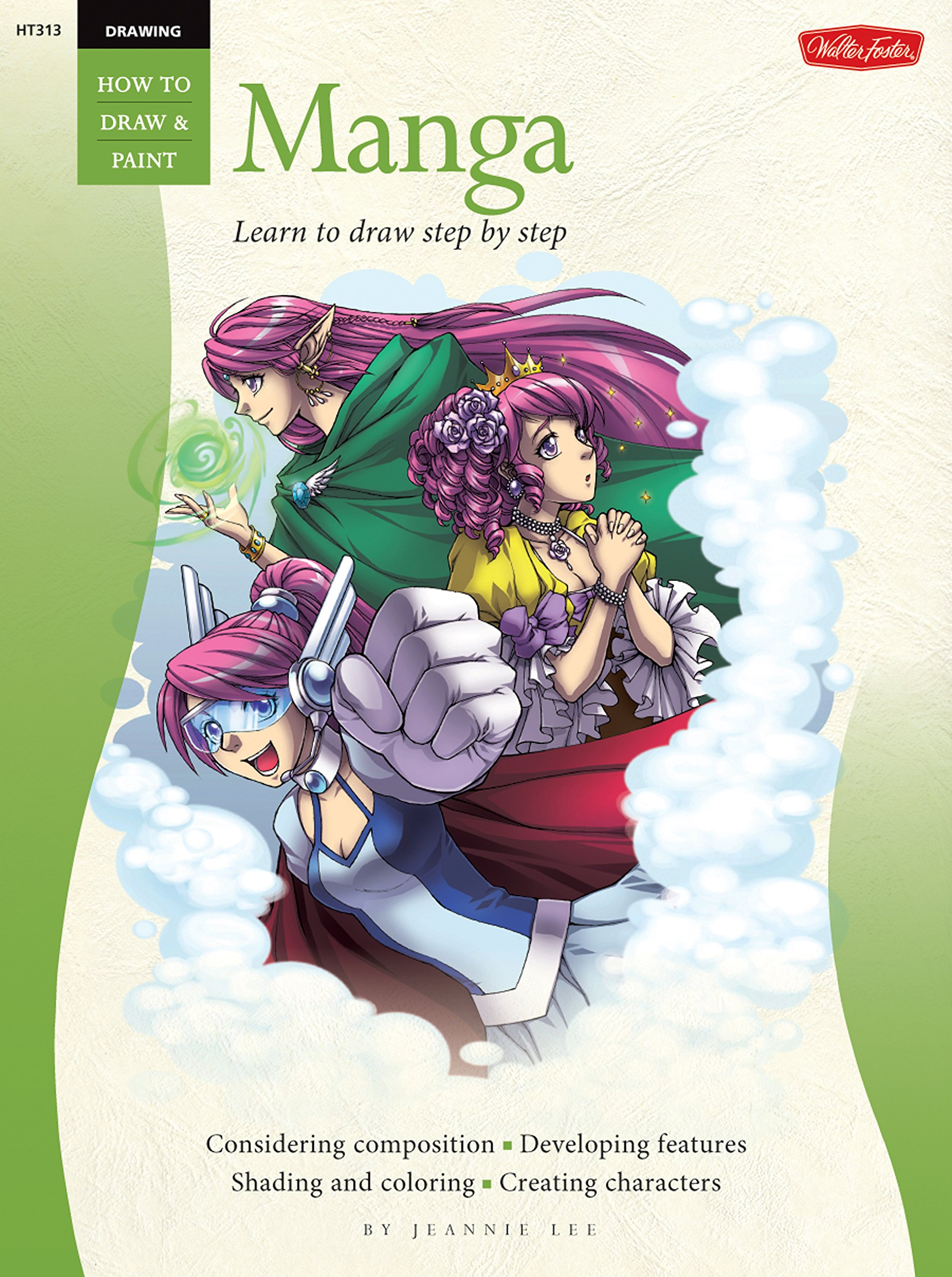 Amazon com drawing manga learn to draw step by step how to draw paint 0050283003137 jeannie lee books