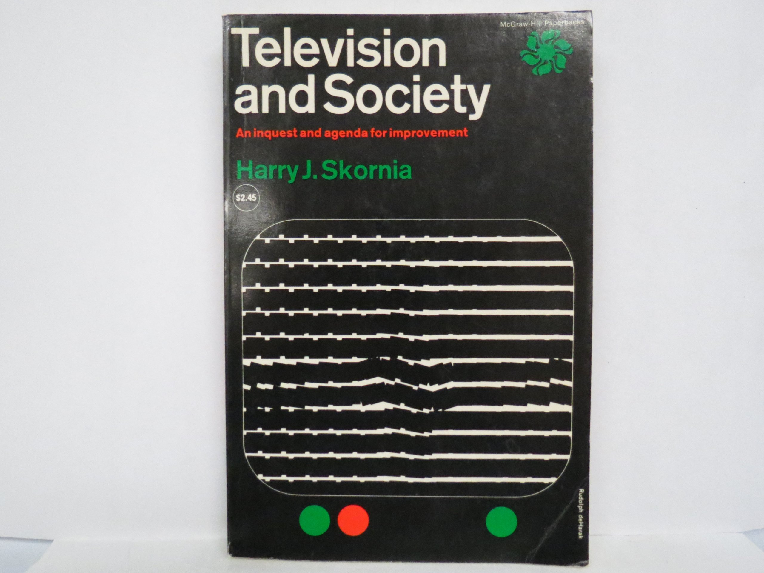 Television and Society An Inquest and Agenda for Imporvement ...