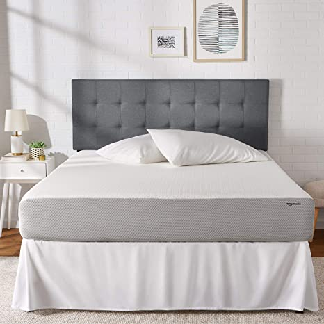 new concept f2a73 99bed AmazonBasics Memory Foam Mattress - 10-Inch, Queen Size - Soft Bed, Plush  Feel, CertiPUR-US Certified, Breathable, Easy Set-Up