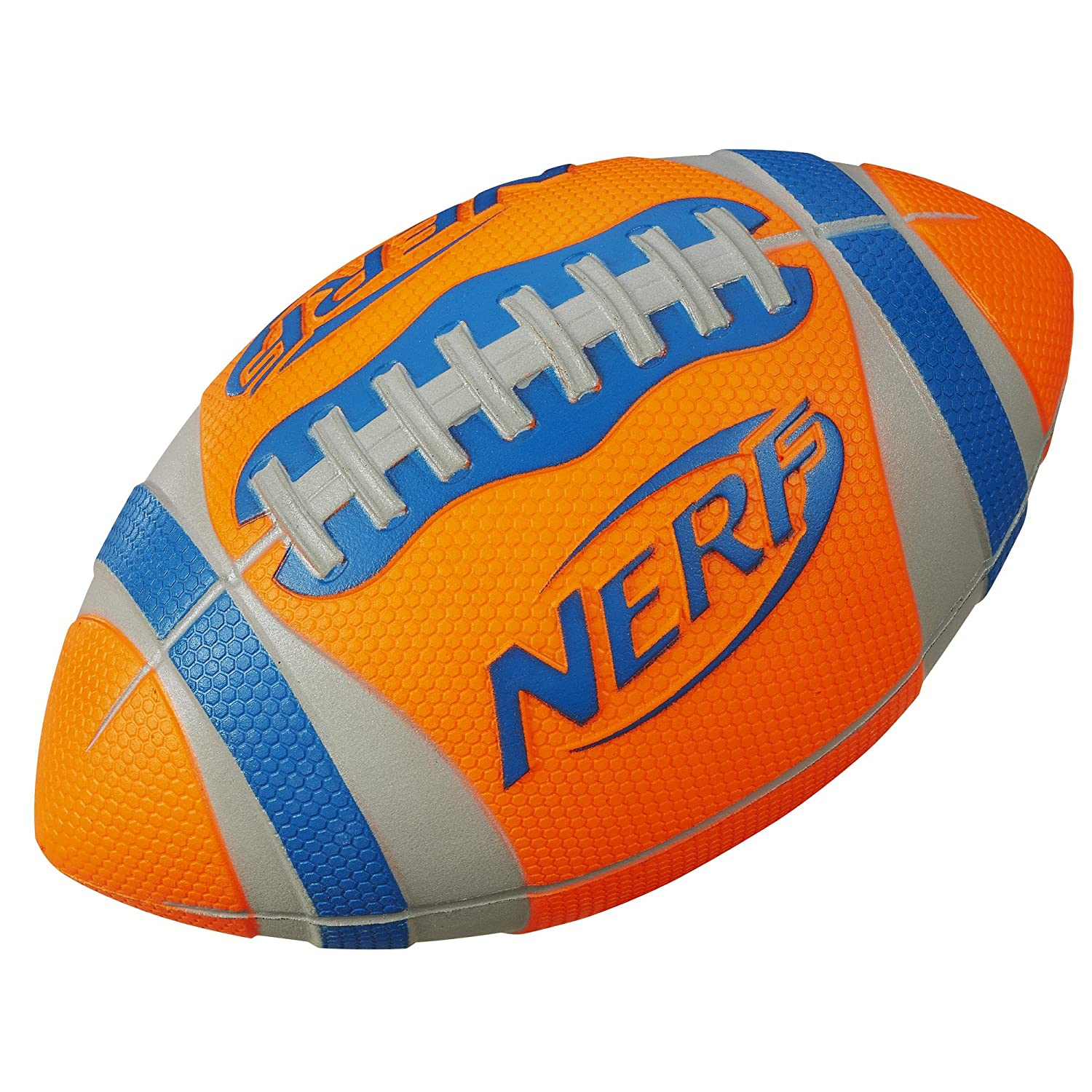 Amazon Nerf Sports Pro Grip Football Orange Toys & Games