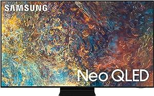SAMSUNG 55-inch Class QN90A Series – Neo QLED 4K Smart TV with Alexa Built-in (QN55QN90AAFXZA, 2021 Model)