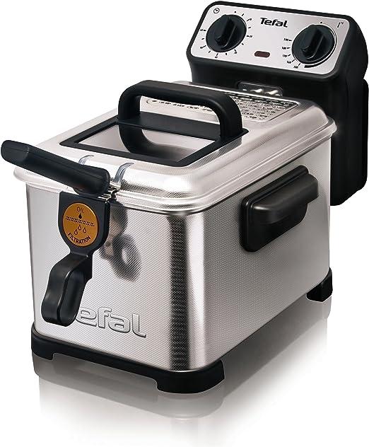 Tefal Filtra Pro INOX & Design 3 L FR404730-Freidora, Color Gris ...