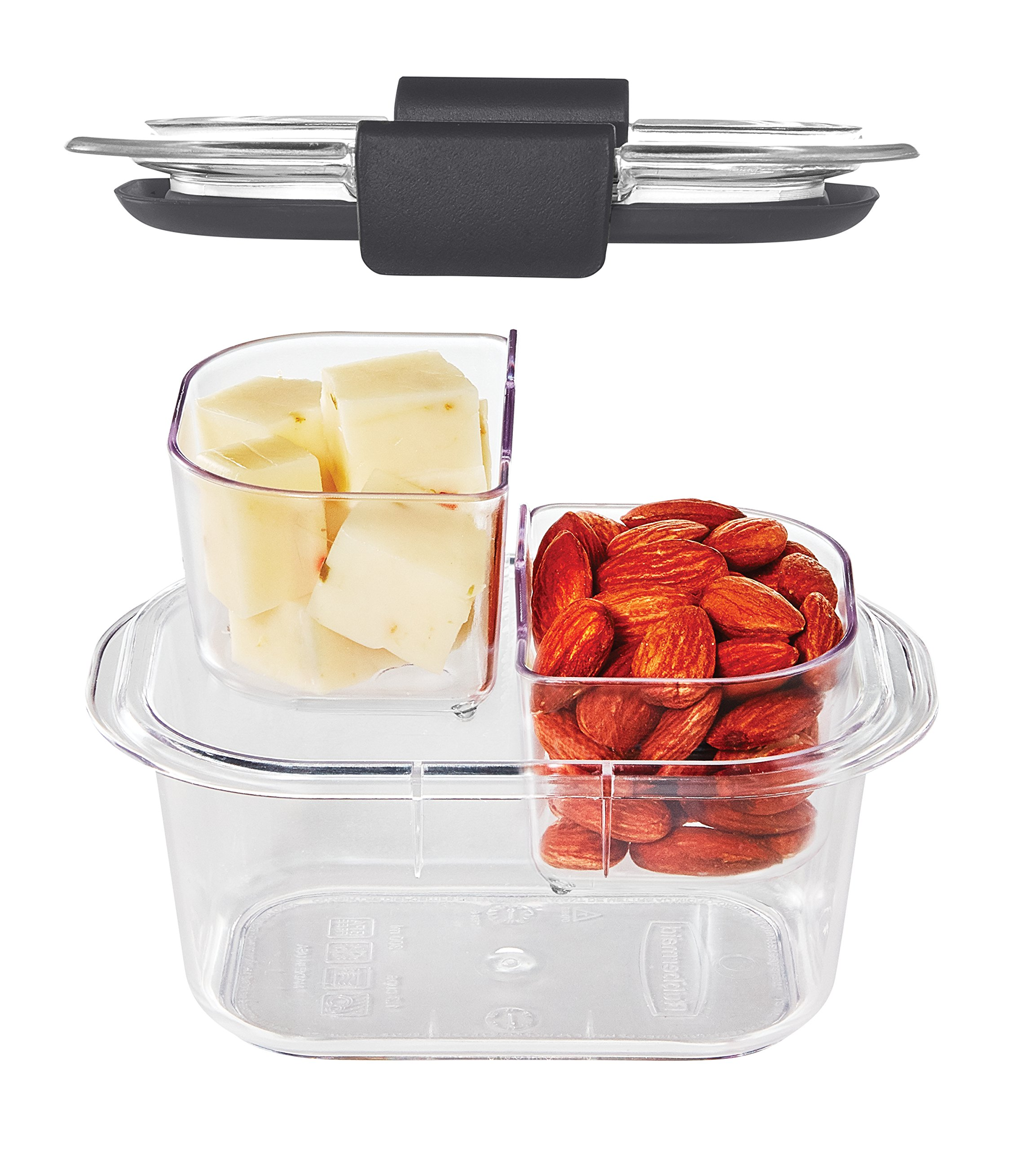 Rubbermaid Brilliance Food Storage Container, Sandwich and Snack Lunch Kit, Clear, 10-Piece Set 1997842 by Rubbermaid (Image #4)