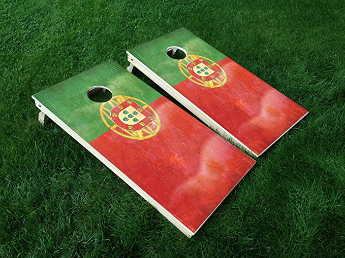 Corn Hole Wraps Corn Toss Morocco Flag Themed Cornhole Board Prints  Wraps Custom Bag Toss