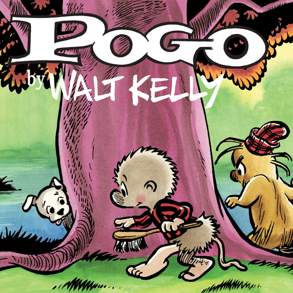 Pogo: The Complete Daily & Sunday Comic Strips (Collections) (4 Book Series)