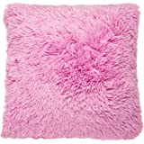 Catherine Lansfield Cuddly Cushion Cover, Candy