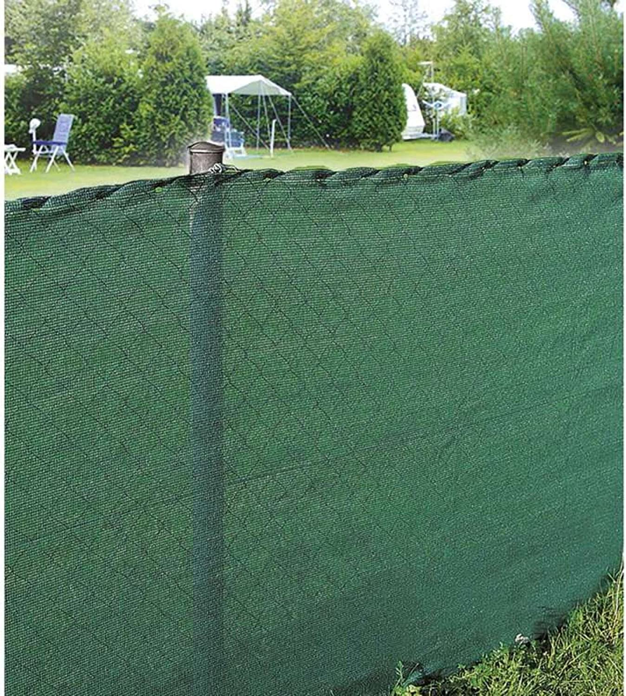 80 gr//m2, 10 x 1,20 m Color Verde Werkapro 10742- Malla de ocultaci/ón para Exteriores