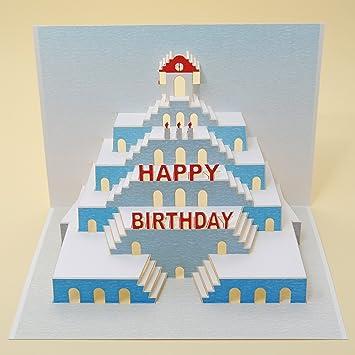 Forever mano Made Pop Up tarjeta Cumpleaños - Una Tarjeta y ...
