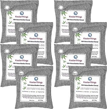 Amazon.com: Paquete de 8 bolsas purificadoras de aire de ...
