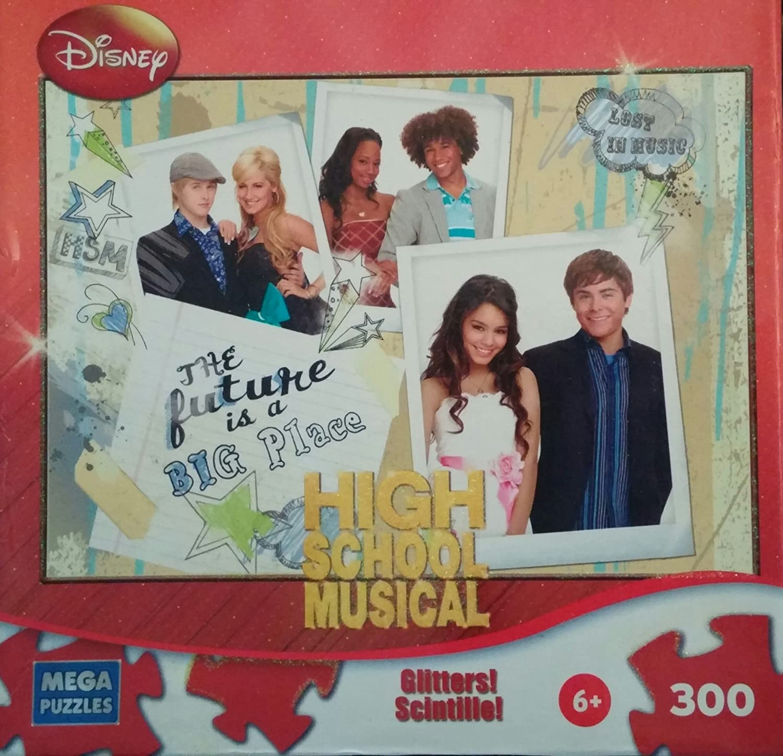 Disney High High High School Musical Puzzle Glitter & Glow 300 Piece by Disney 5c9d92