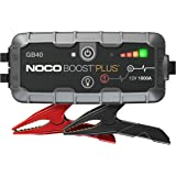 NOCO Boost Plus GB40 1000 Amp 12-Volt UltraSafe Lithium Jump Starter Box, Car Battery Booster Pack, Portable Power Bank Charg