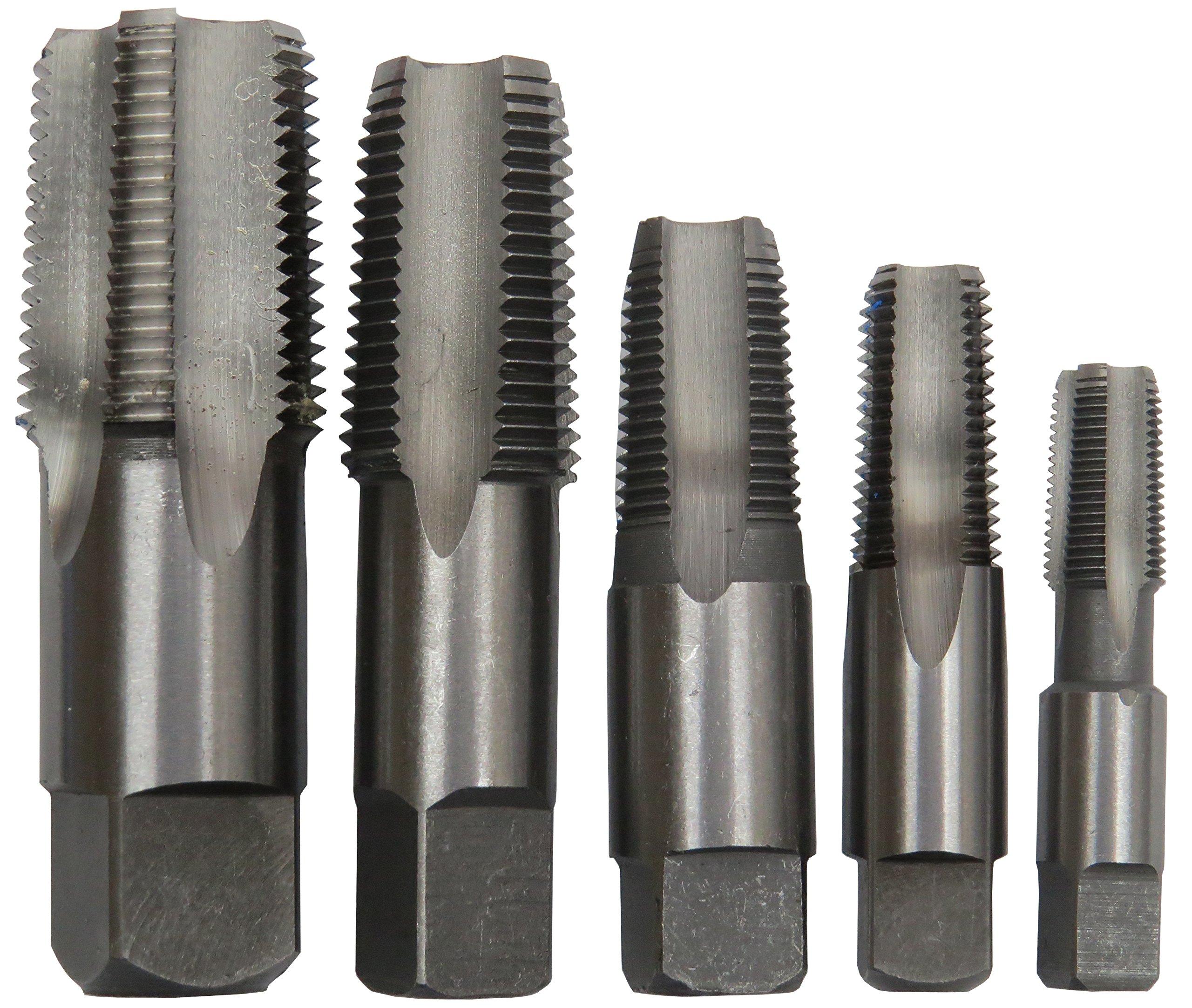 "3//8/"" Carbon Steel NPT Tap and 37//64/""  HSS Drill Bit Qualtech"