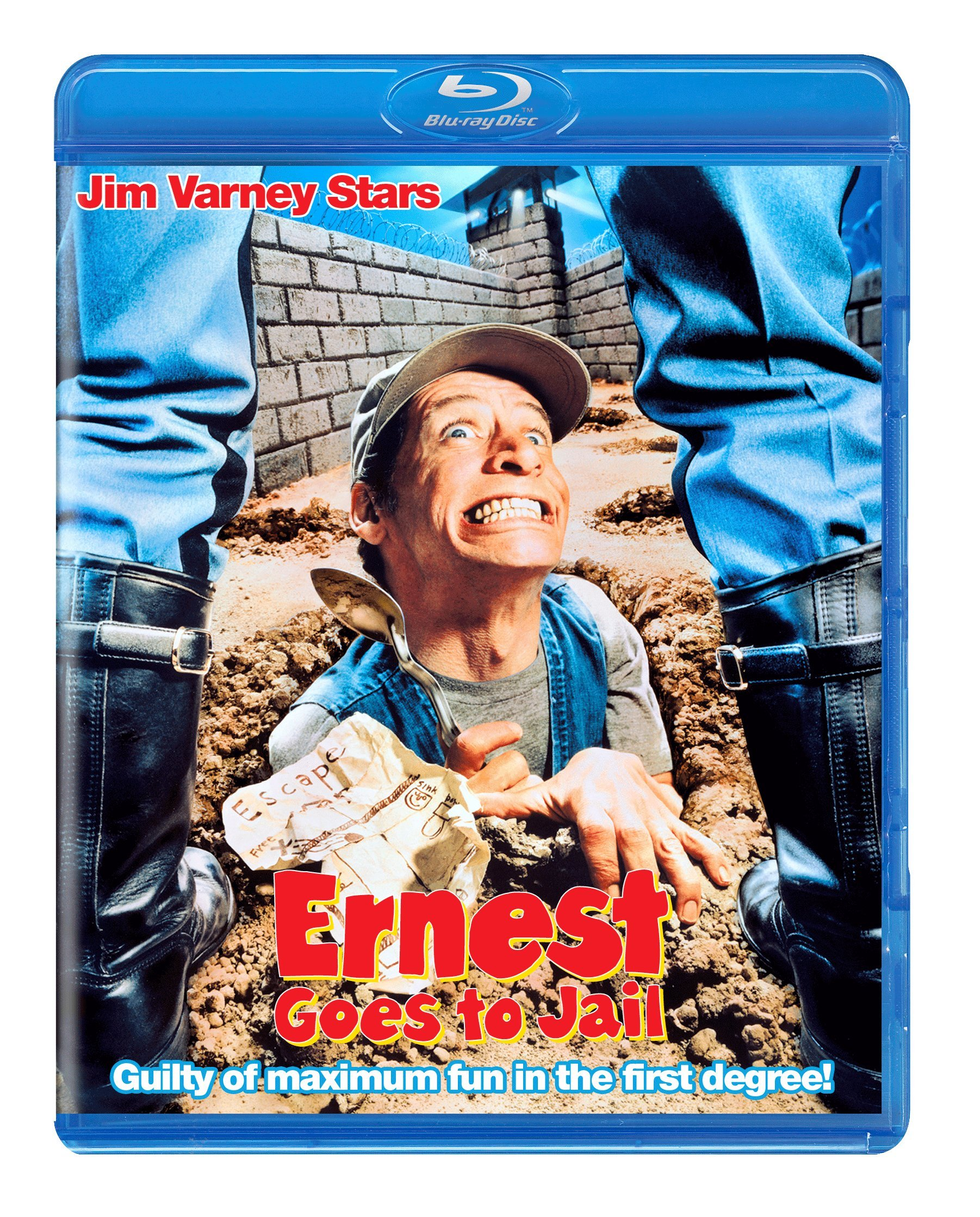 Blu-ray : Ernest Goes To Jail (Blu-ray)