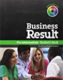 Business Result Pre-Inter Student Book Pack and DVD-ROM