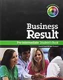 Business result. Pre-intermediate. Student's book. Per le Scuole superiori. Con DVD-ROM. Con espansione online