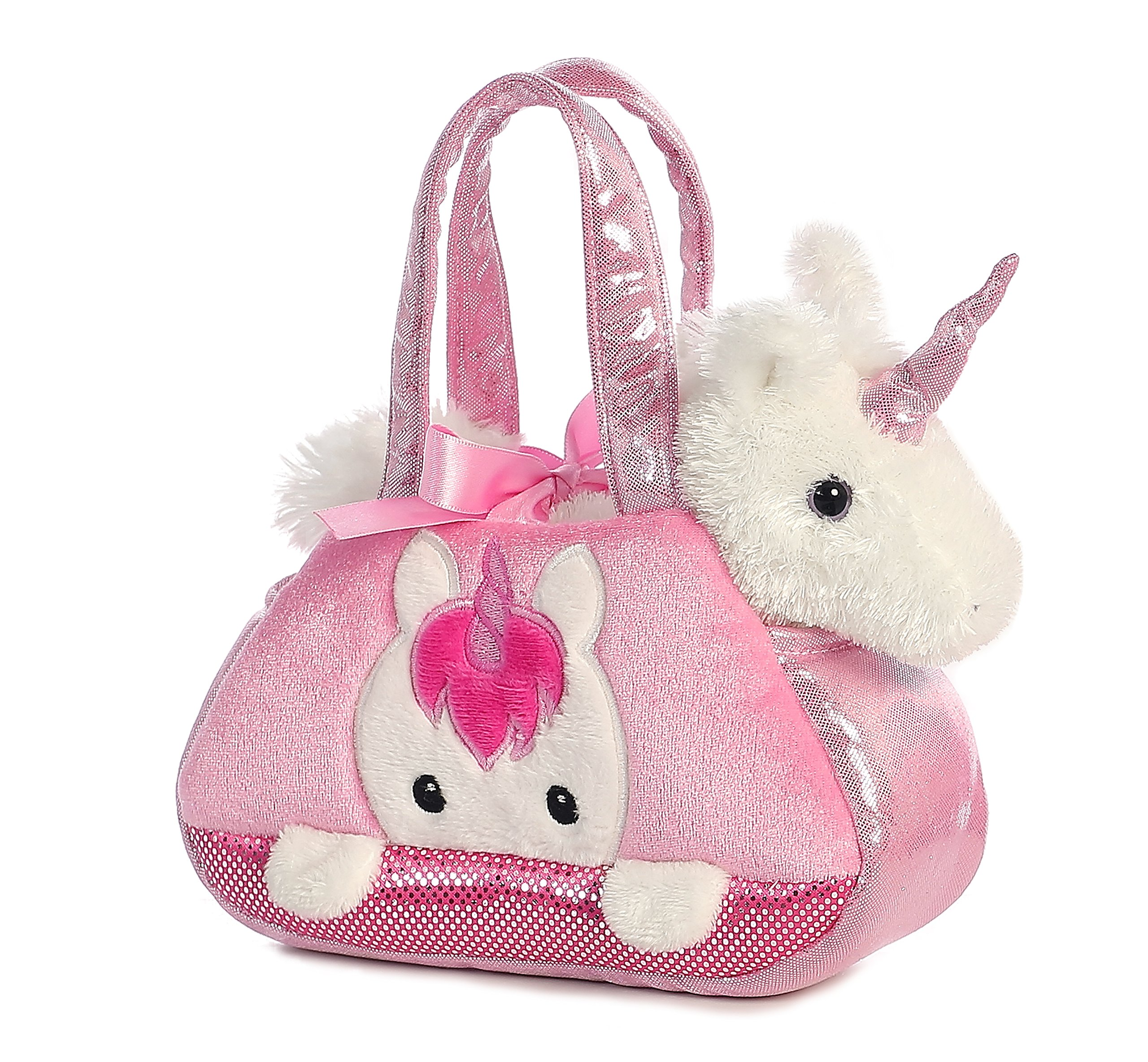 Aurora World Fancy Pals Pet Carrier, Peek-A-Boo Unicorn 3