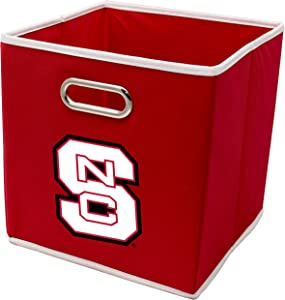 Franklin Sports NCAA College Team Fabric Storage Cubes Made to Fit Storage Bin Organizers (11x10.5x10.5)