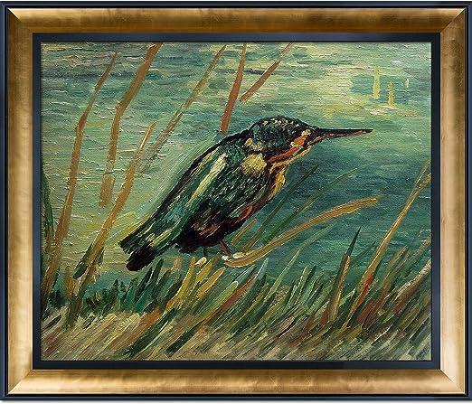 The Kingfisher Van Gogh Drawings Fine Art Print