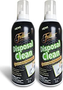 Fuller Brush Garbage Disposal Cleaner – Foaming Action - Fresh Citrus Scent – 12 oz. - 2 Pack