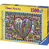 Ravensburger - All That Love In The Middle Of The City, puzzle de 1500 piezas (16295 6)