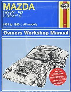 Mazda rx 7 automotive repair manual1986 thru 1991 all modelsno mazda rx 7 rotary 1979 thru 1985 all models automative repair manual fandeluxe Images