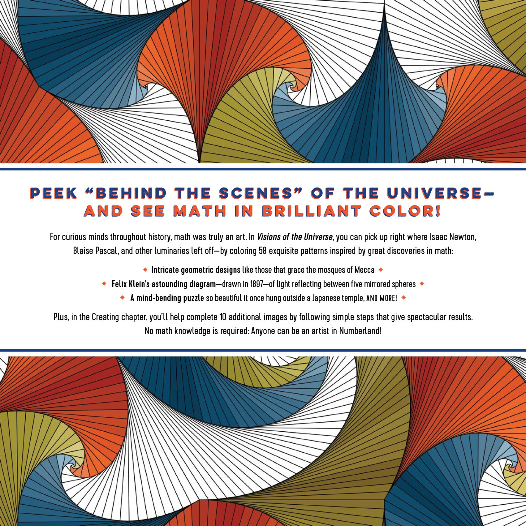 Coloring online universe - Visions Of The Universe A Coloring Journey Through Math S Great Mysteries Alex Bellos Edmund Harriss 9781615193677 Amazon Com Books