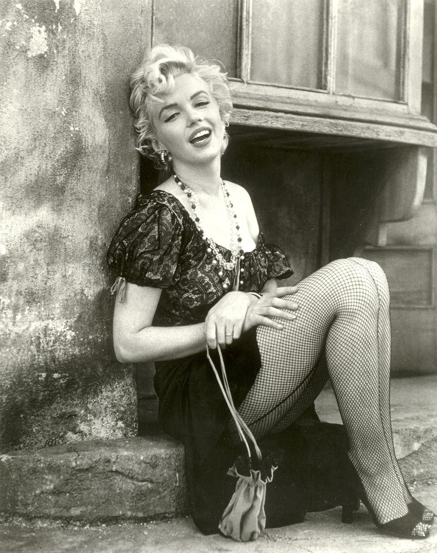 Amazon Marilyn Monroe Photo Fishnet Stockings Pinup Hollywood Photos 8x10 Photographs Posters Prints