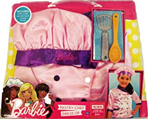 Barbie Pastry Chef Dress Up and Pastry Set