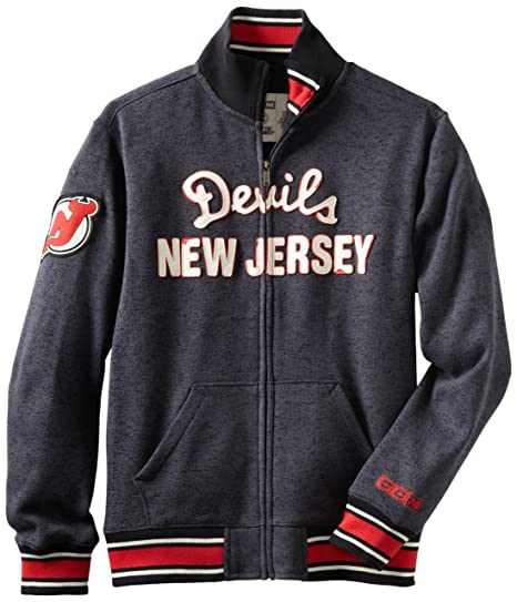 new product a2650 09d7d Buy NHL New Jersey Devils CCM Fleece Track Jacket, XX-Large ...