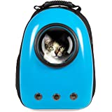 Best Choice Products Traveler Bubble Window Backpack Pet Carrier for Cats and Dogs
