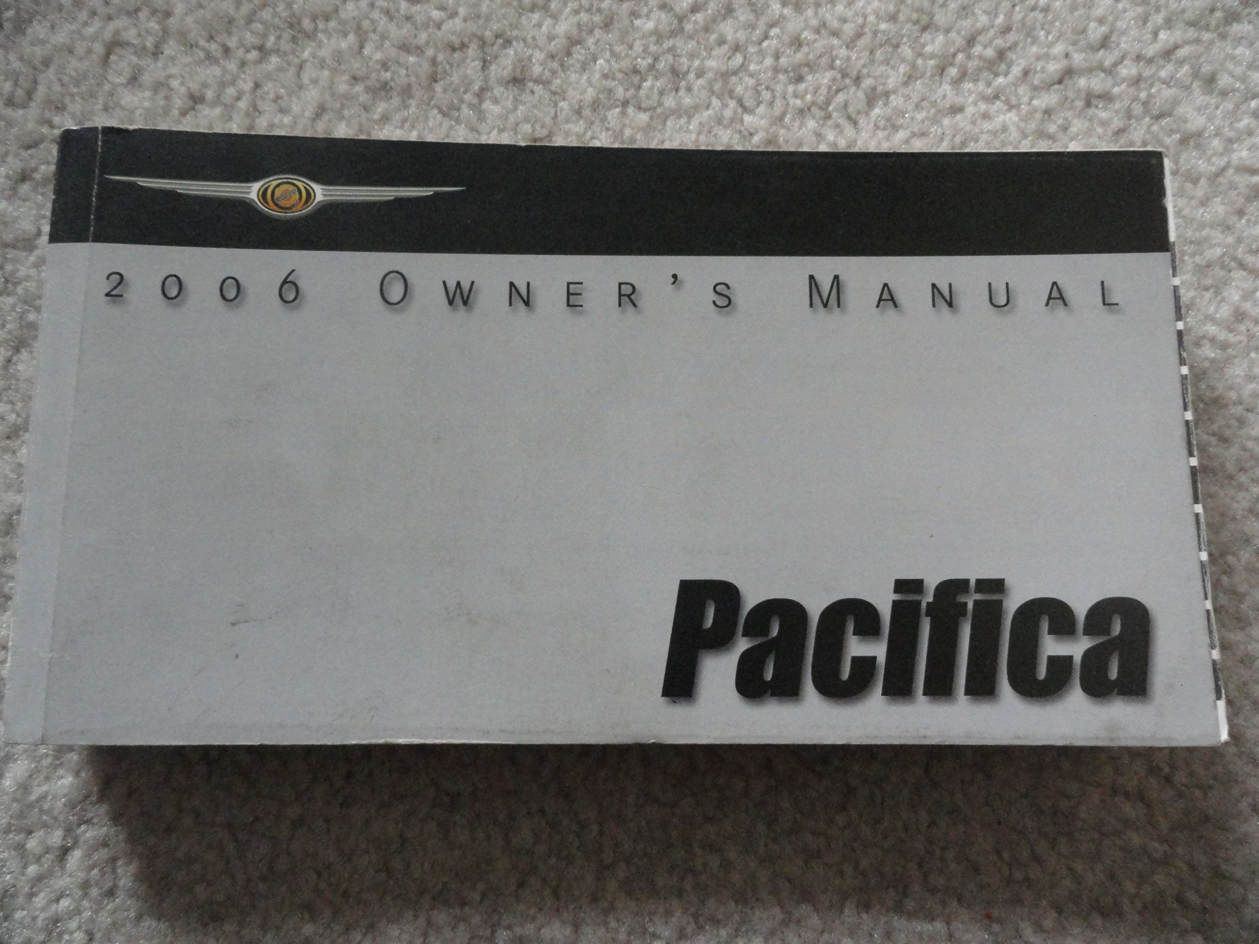 chrysler pacifica owners manual