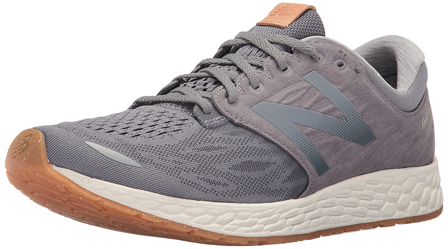New Balance Men's Fresh Foam Zante V3 Performance Running Shoe B01M10GWZI 12.5 D(M) US|Gunmetal/Sea Salt