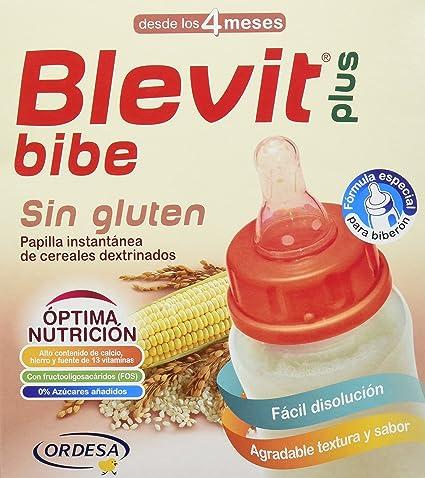BLEVIT Plus Bibe Sin Gluten - 600 gr
